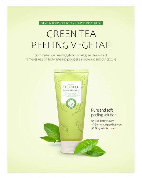 Green Tea Peeling Vegetal