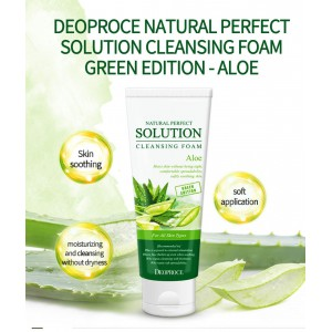 CLEANSING FOAM GREEN EDITION ALOE