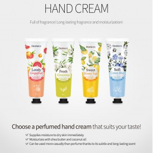 Perfumed Hand Cream Cotton Blue