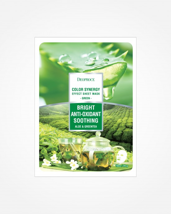 Color Synergy Green Sheet Mask