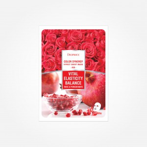 Color Synergy Red Sheet Mask