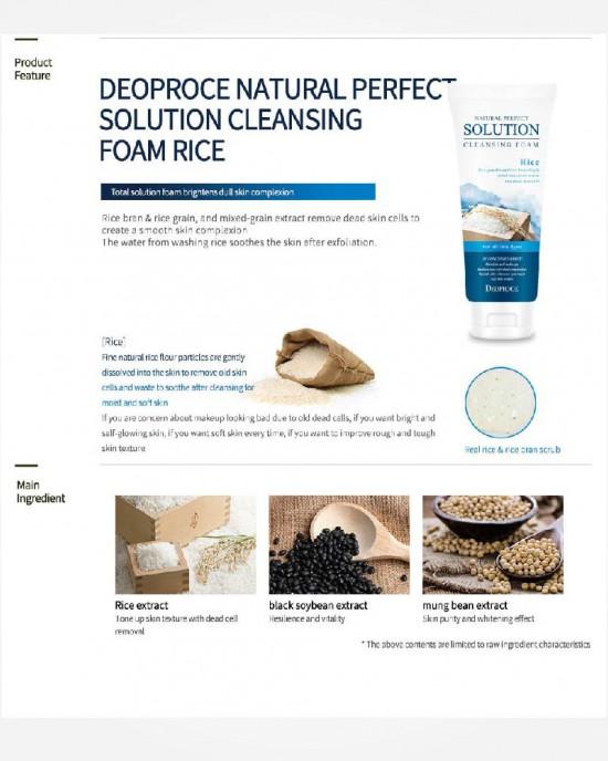 Cleansing Foam Deep Cleansing