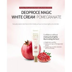 Magic White Cream Pomegranate