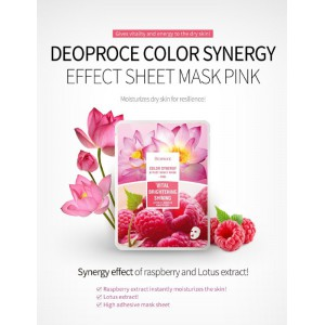 Color Synergy Pink Sheet Mask