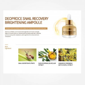 Snail Recovery Brightening Ampoule