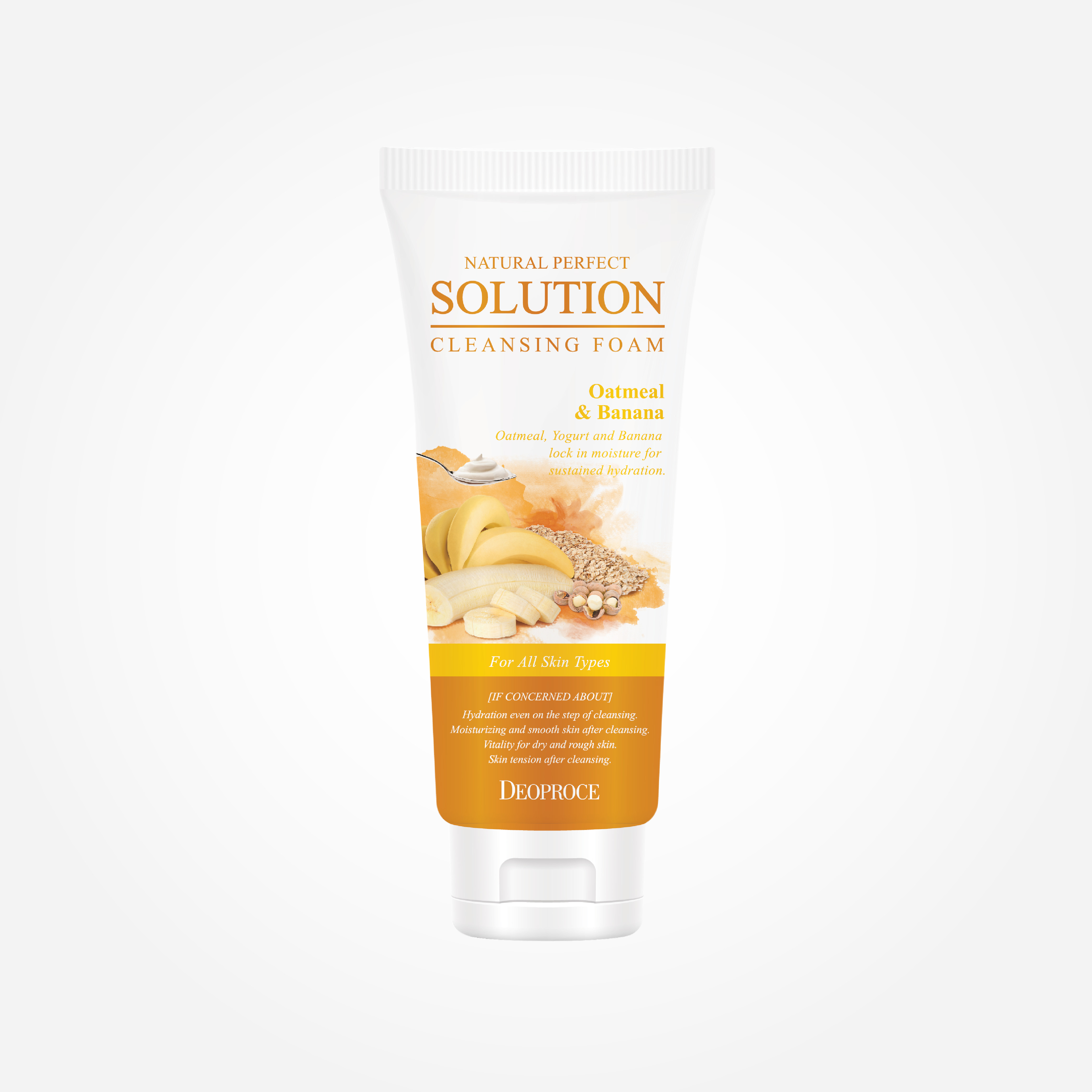 Natural Perfect Solution Cleansing Foam Moisturizing